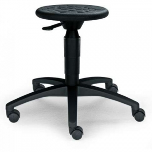 Hocker mit PU-Sitzfläche